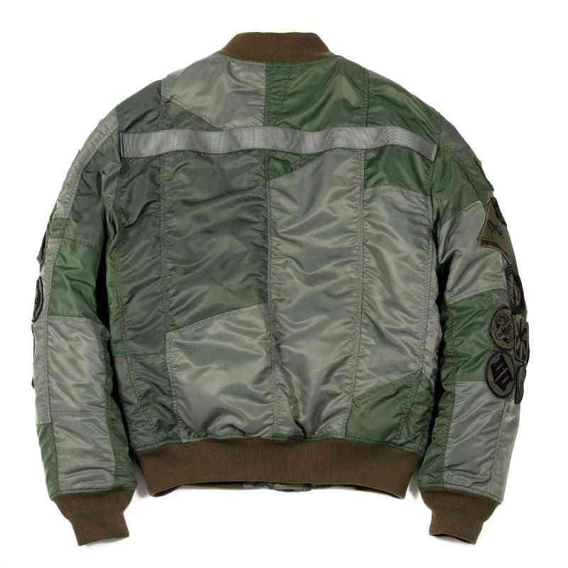 Men's Army Green Flight Jacket