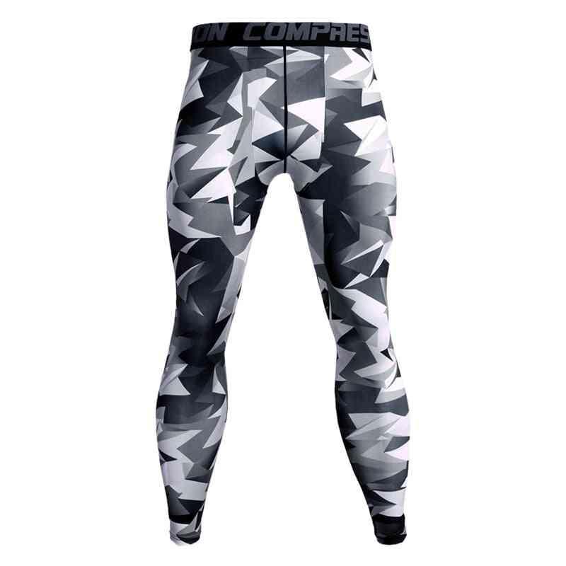 Male Sportswear-compression Pants, Yoga Workout Bottoms