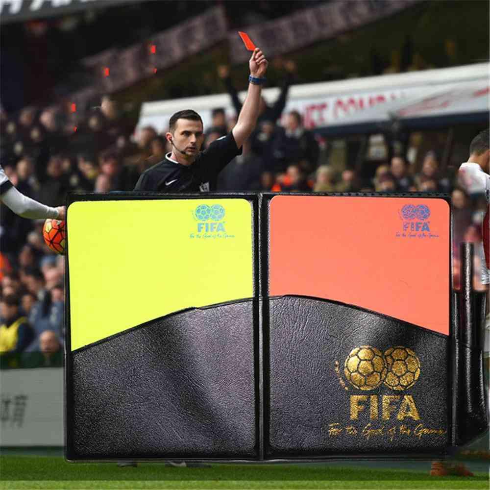 Training Referee Notebook & Card Set