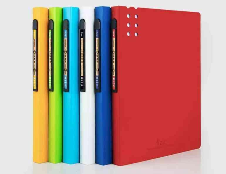 A4 Book File Folder Paper Clip