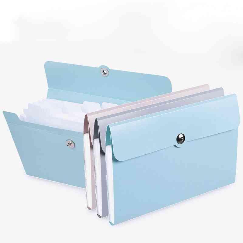 File-folder Organ-box-bag Multi-function Organizer Storage-holder