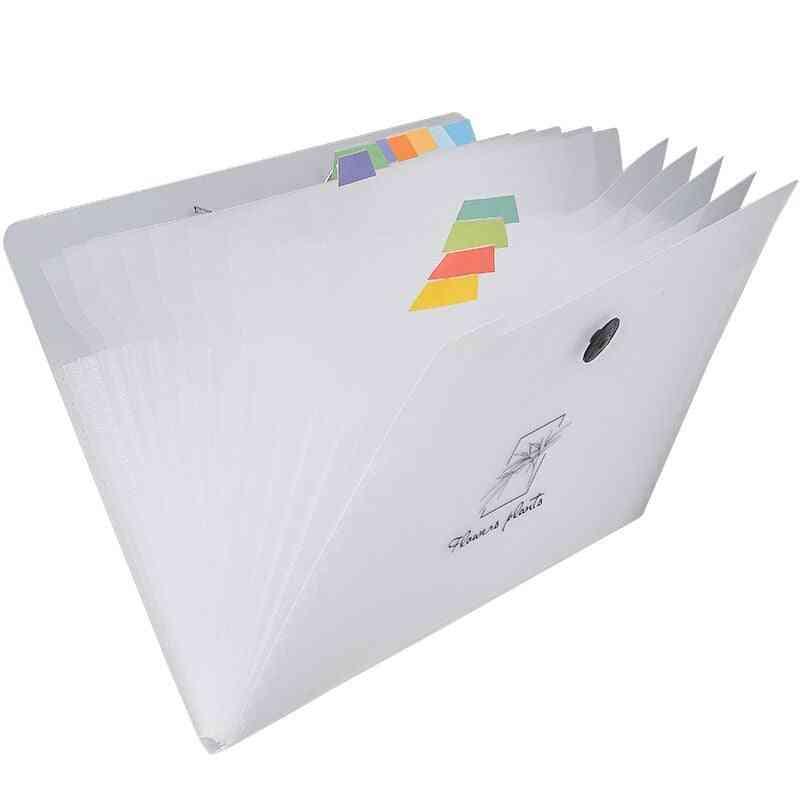 Waterproof 12-layers A4 Expanding File-folder Organizer