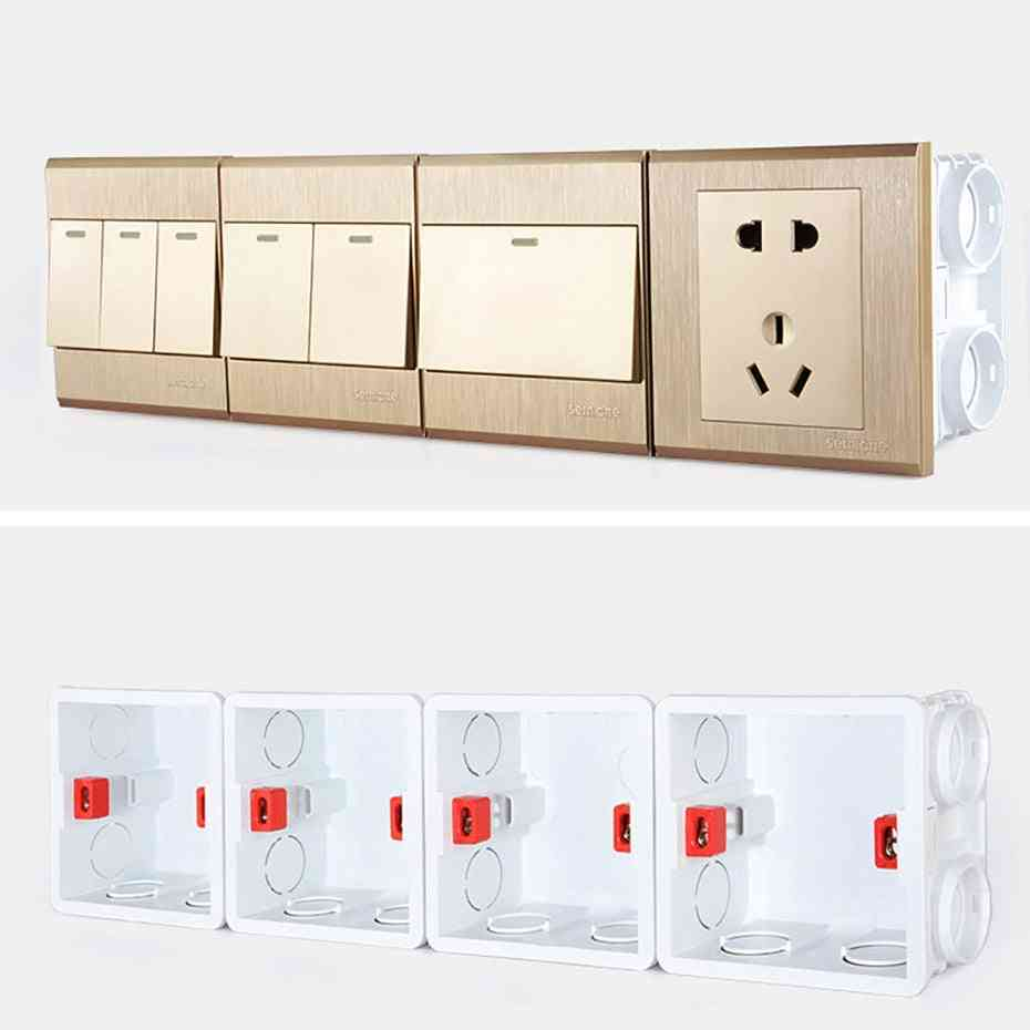Mounting Box For Wall Switch And Socket Wallpad Cassette
