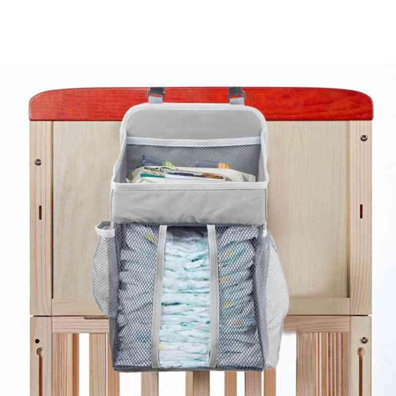 Soft, Durable And Portable Baby Crib Hanging Storage Bag