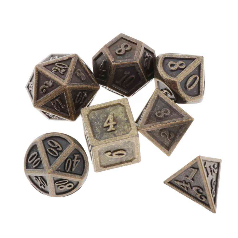 7pcs Polyhedral Game Dices Set