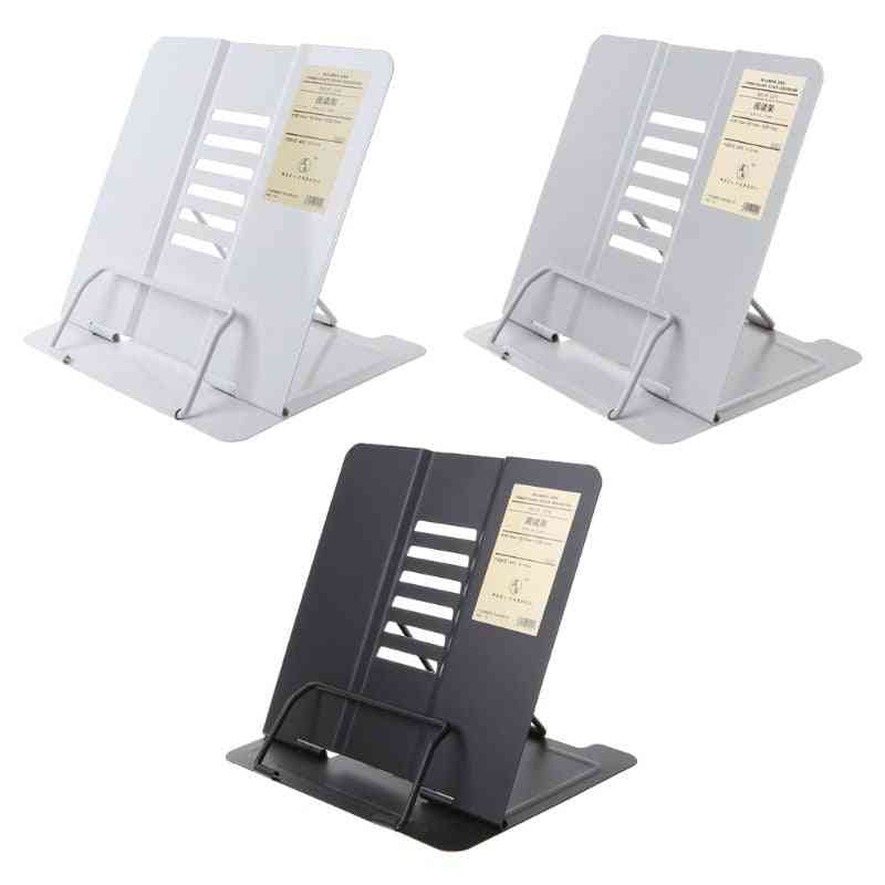 Portable And Endurable Book Holder Stand For Reading