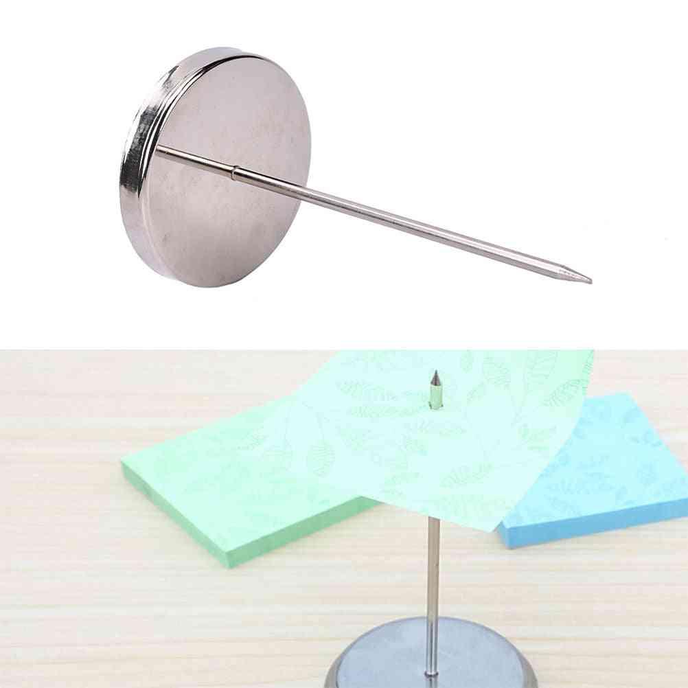Needle Shape Holder And Dispenser For Receipt/memo/bil