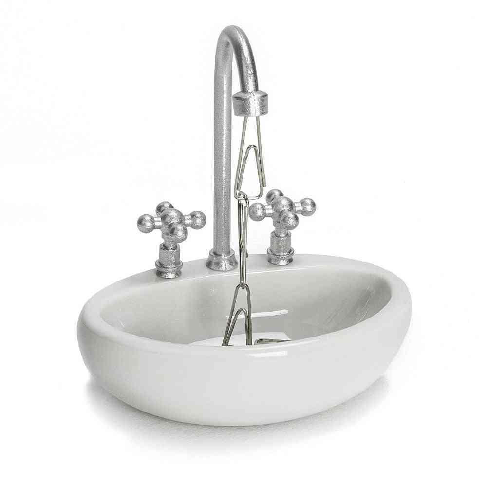 Contemporary Sink Design-magnetic Paper Clip Holder