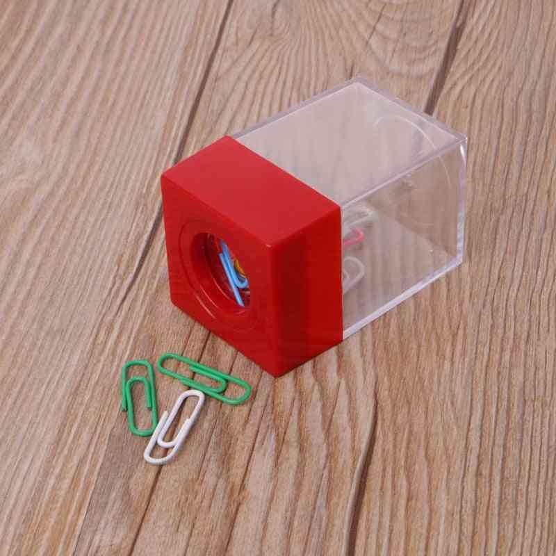 Clip Dispenser Magnetic Square Box