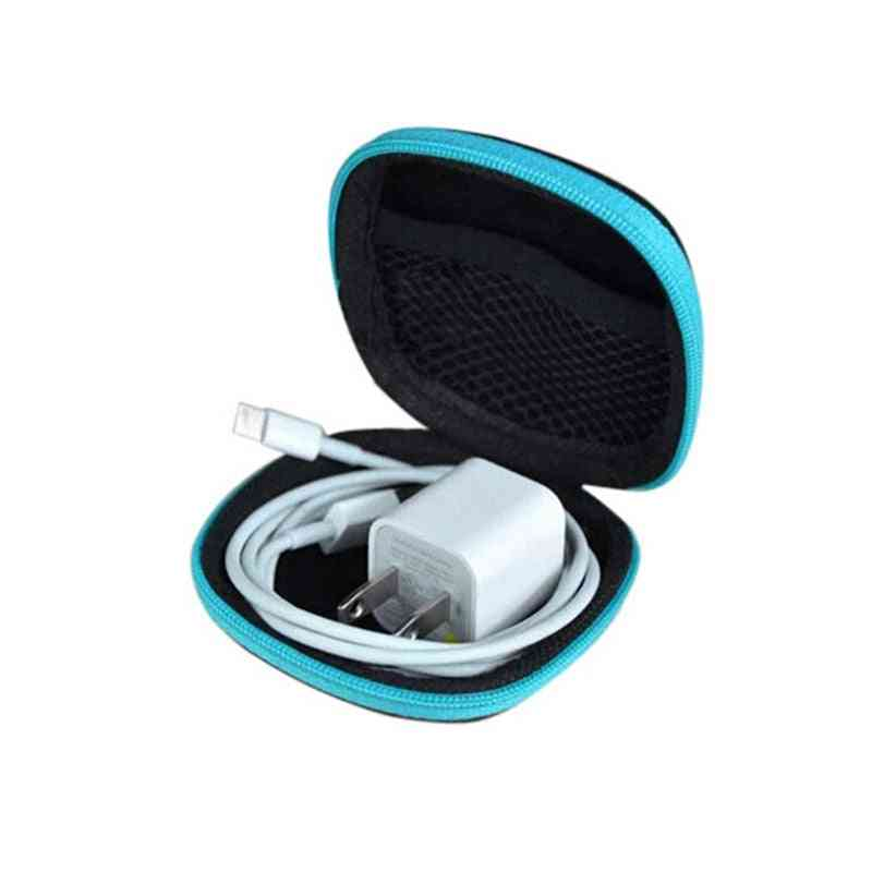 Durable Mini Storage Bag For Paperclips/headphones/earphones/data Cable