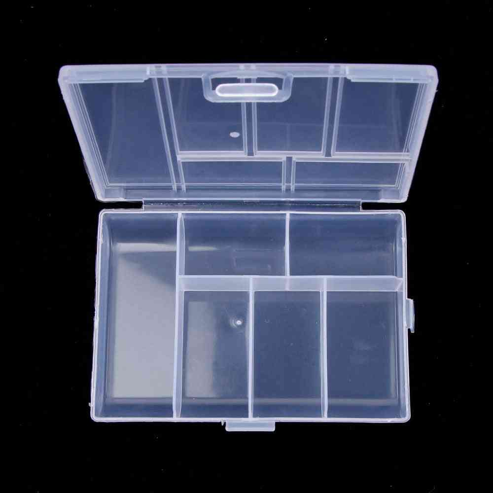 Mini Storage Box For Coin/pill/craft /metal Parts/sewing Accessories/jewelry
