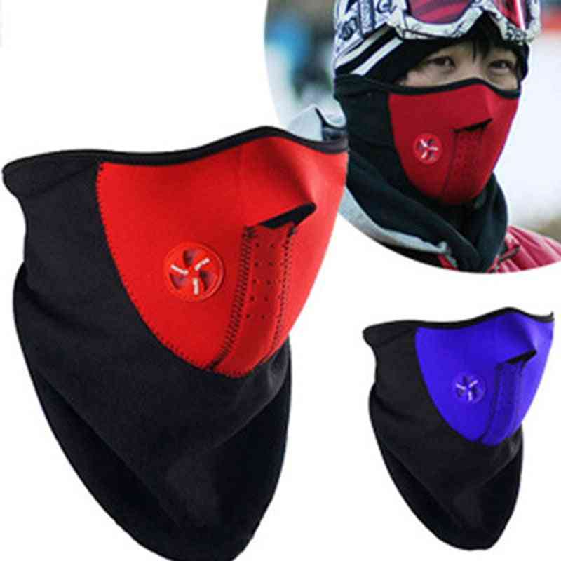 Dust Proof Neck Warm Half Face Mask