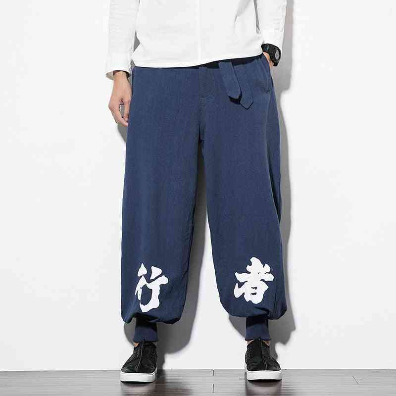 Men's Casual Elastic Cotton Jogger Pants For Fitness Workout