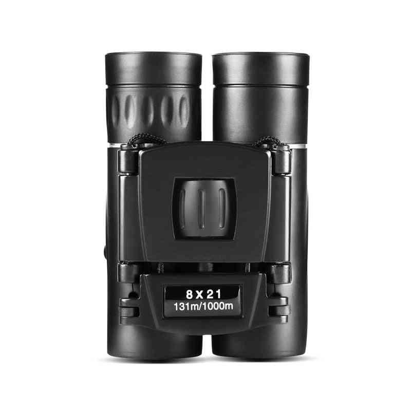 Compact And Folding Zoom Binoculars- Hd Powerful Mini Telescope