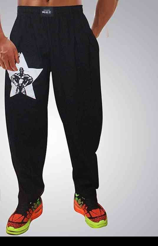 High Elastic Cotton Gym Clothing, Loose Crossfit Jogger Sweatpants's
