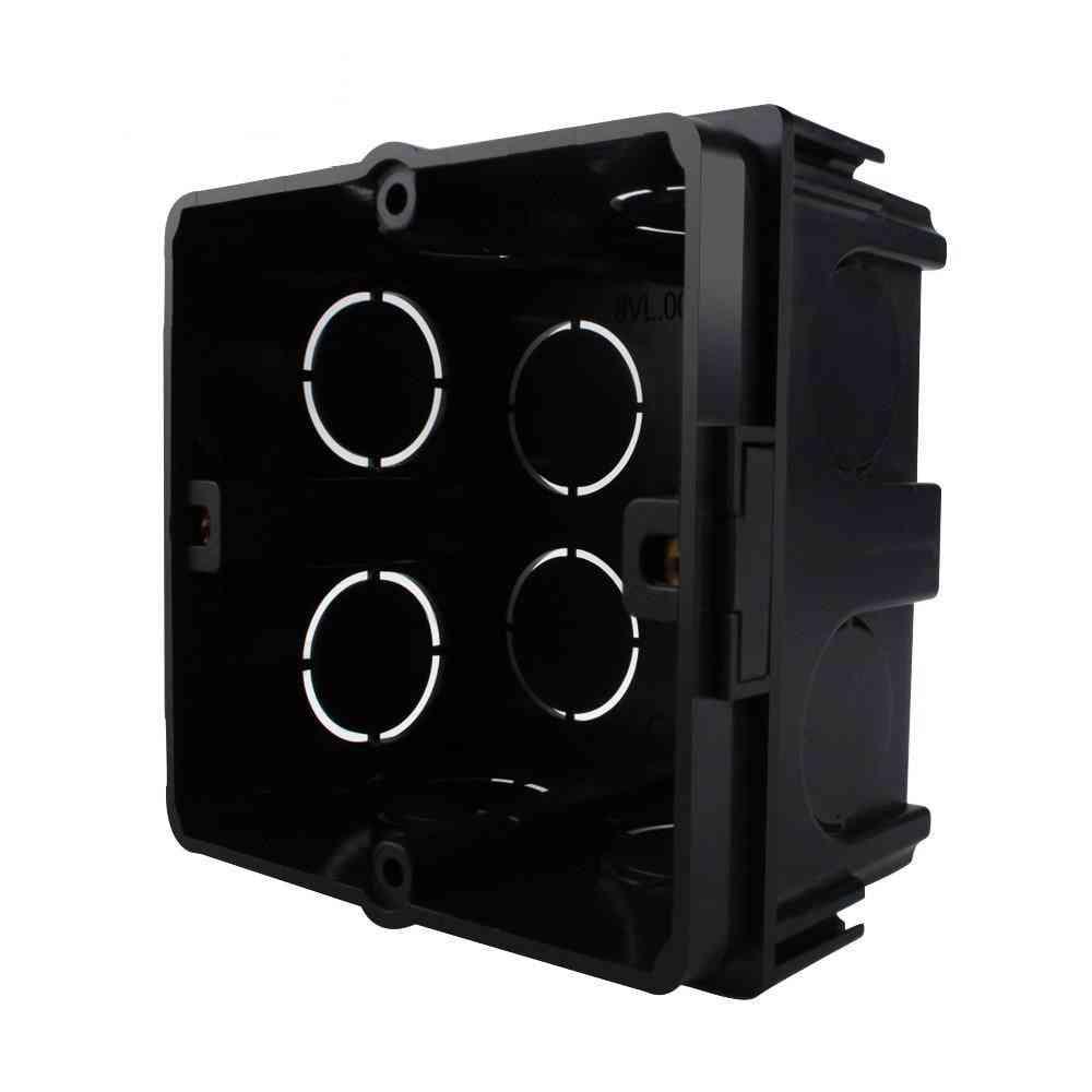 Plastic Materials Eu Standard Internal Mount Box, For 80mm*80mm