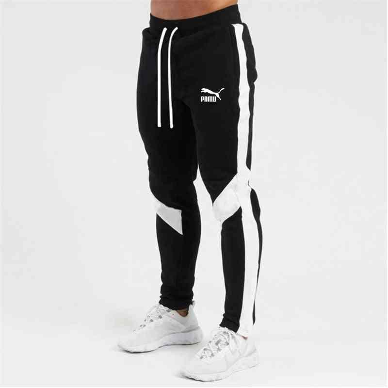 Men Letter Sport Sweatpants- Running Pants