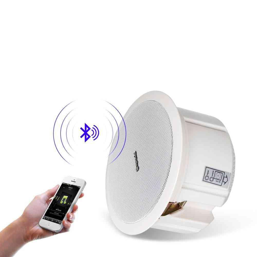 Bluetooth Ceiling Speakers, 6.5 Inch In Wall Loudspeakers System