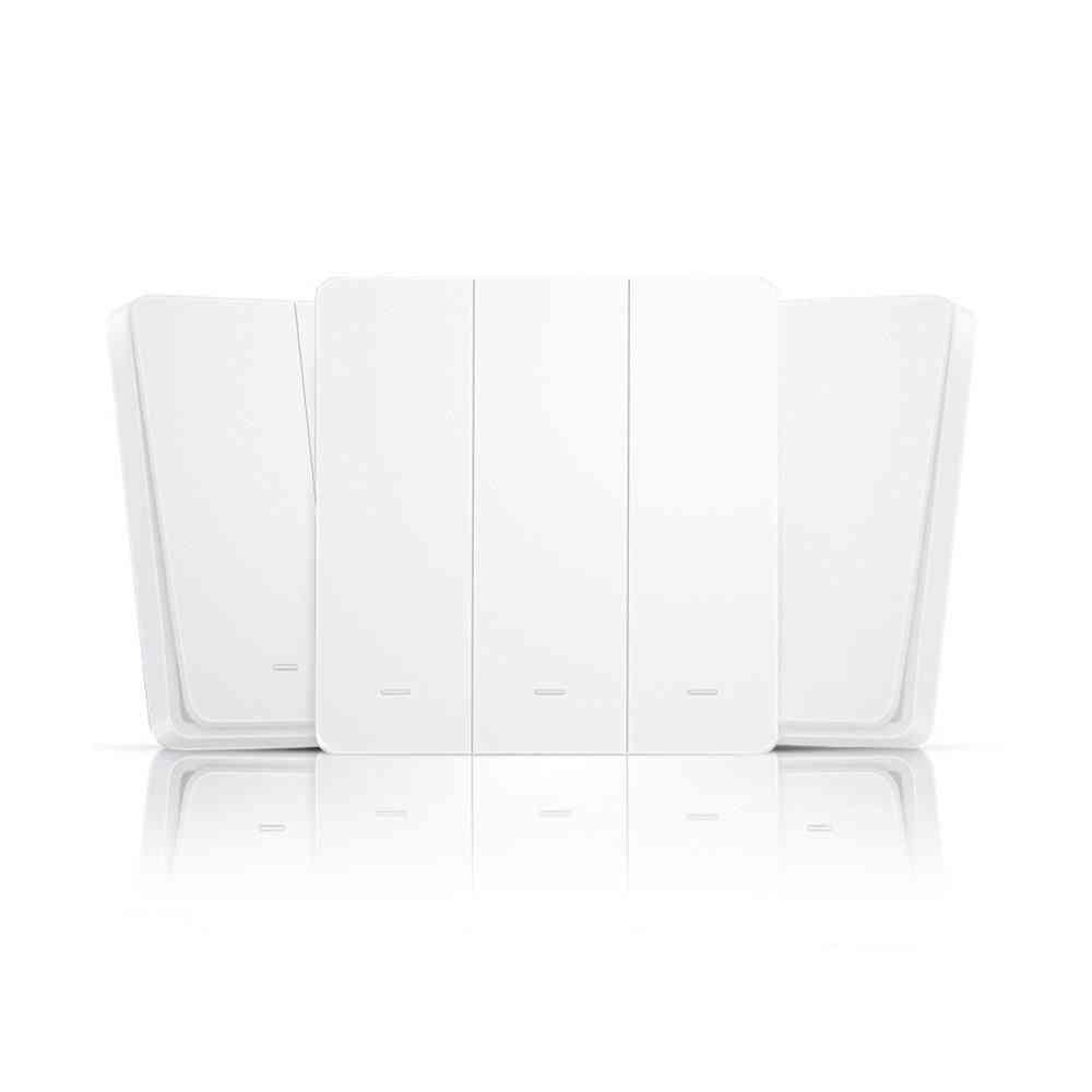 Smart Light Switch, 10a Eu Wall Button, Wireless Remote Control