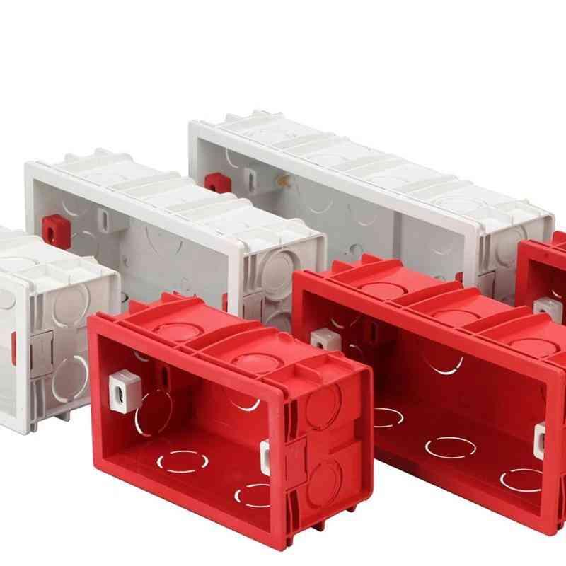 Mounting Box -internal Cassette Junction Wiring Case, Wall Light Switch Socket