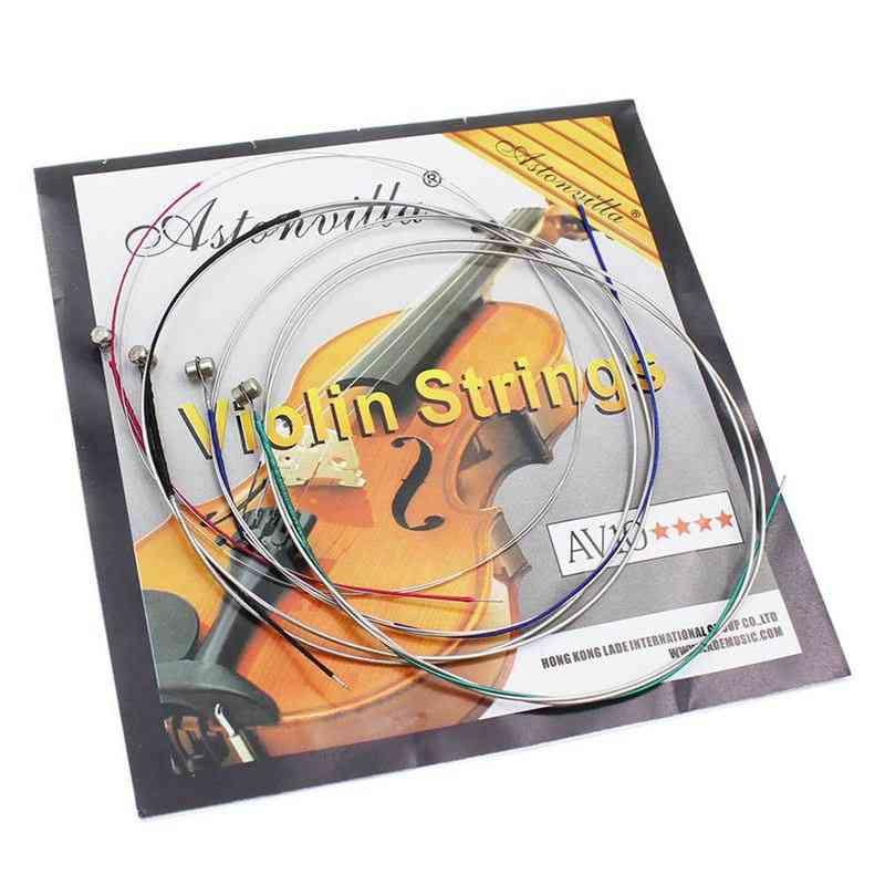 Set Of Violin Strings E-a-d-g Gauge