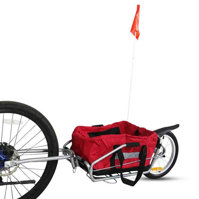 2 In 1 Bicycle Trailer Without Bag