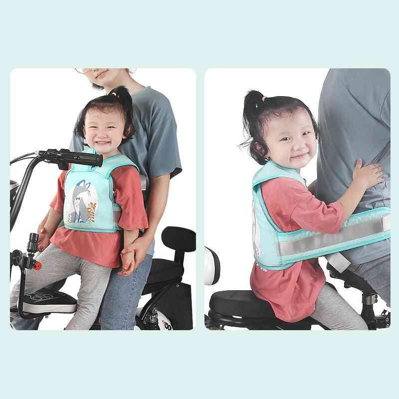 Bicycle Bike Belt, Baby Girl & Boy Safety Cycling Back Seat