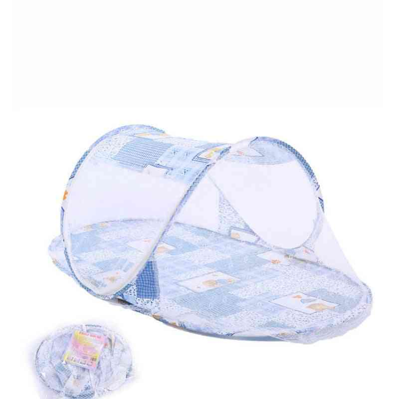Mosquito Net For Sleeping, Portable Foldable Baby Kids Bed Crib