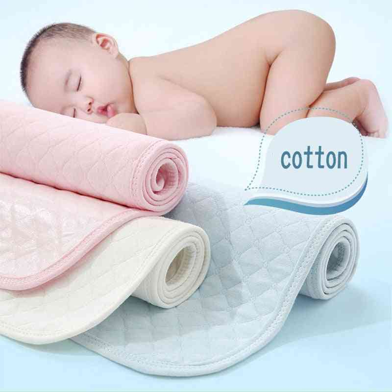Breathable Waterproof Mattress, Baby Diapers Pad, Washed Folded And Reused
