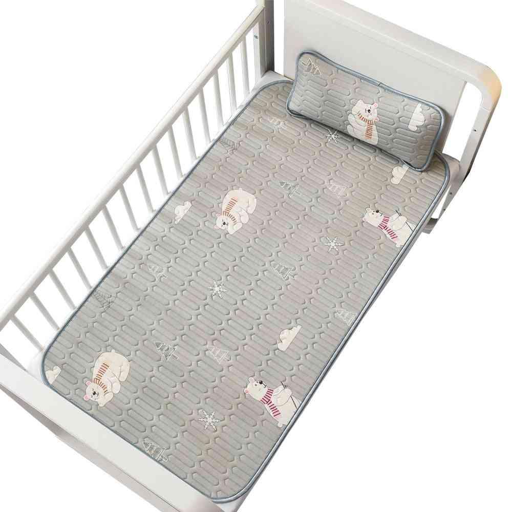 Newborn Baby Cool Mat, Infant Mattress Cover