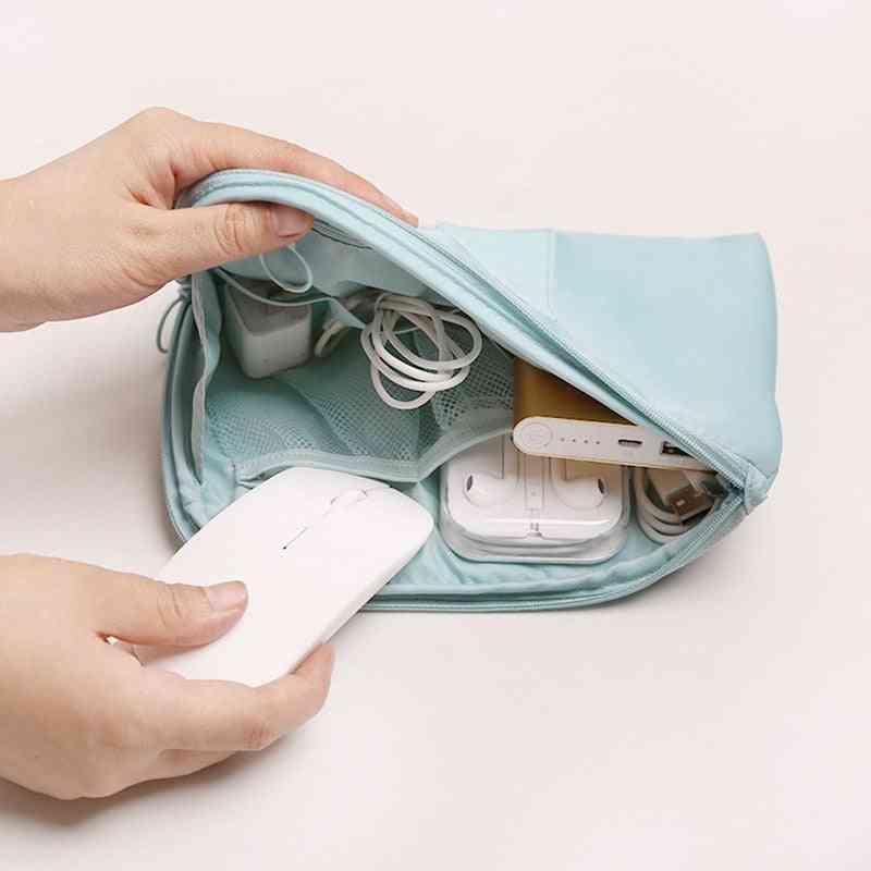 Travel Storage Portable Digital Accessories, Gadget Devices Organizer Bag