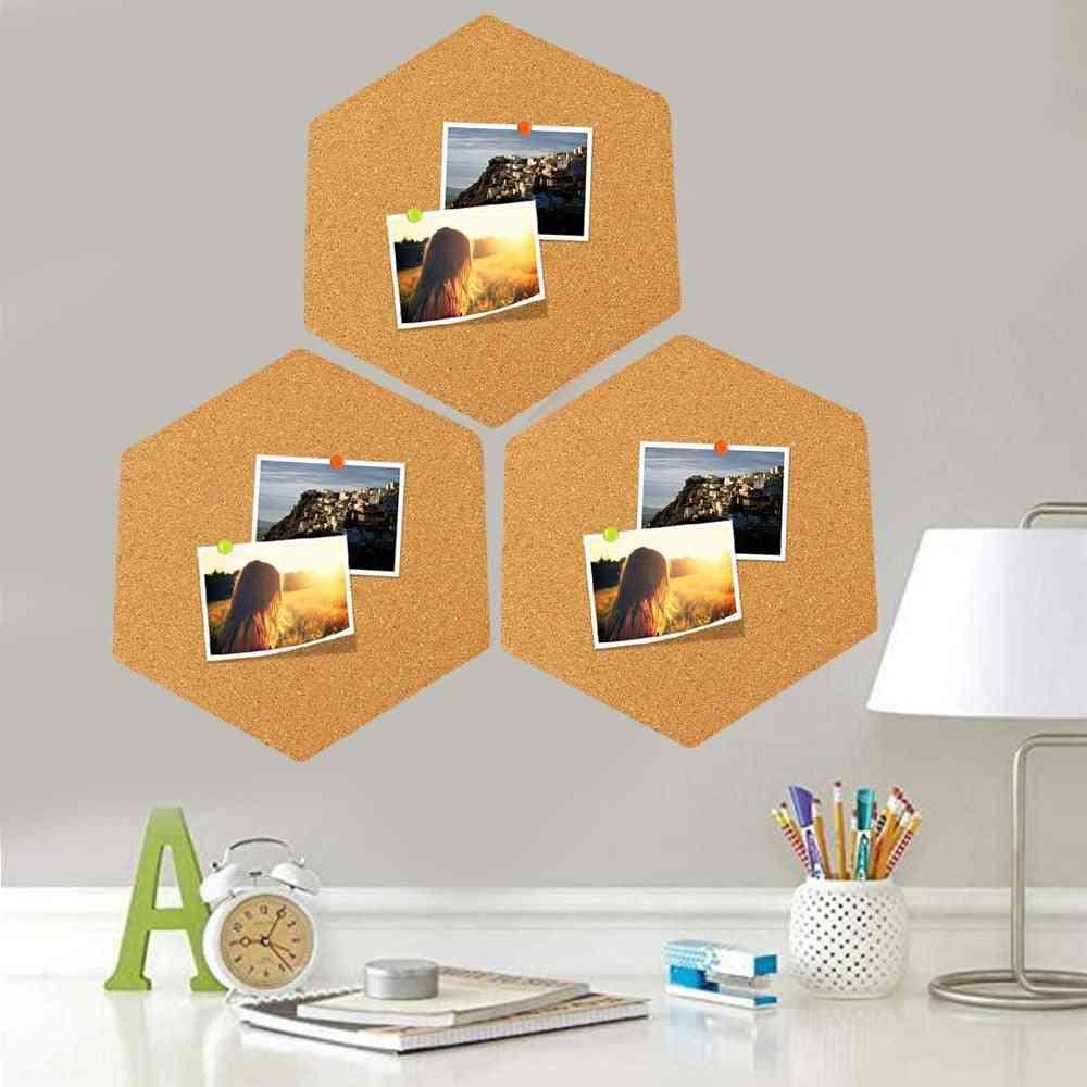 215x185mm Self-adhesive Cork-board