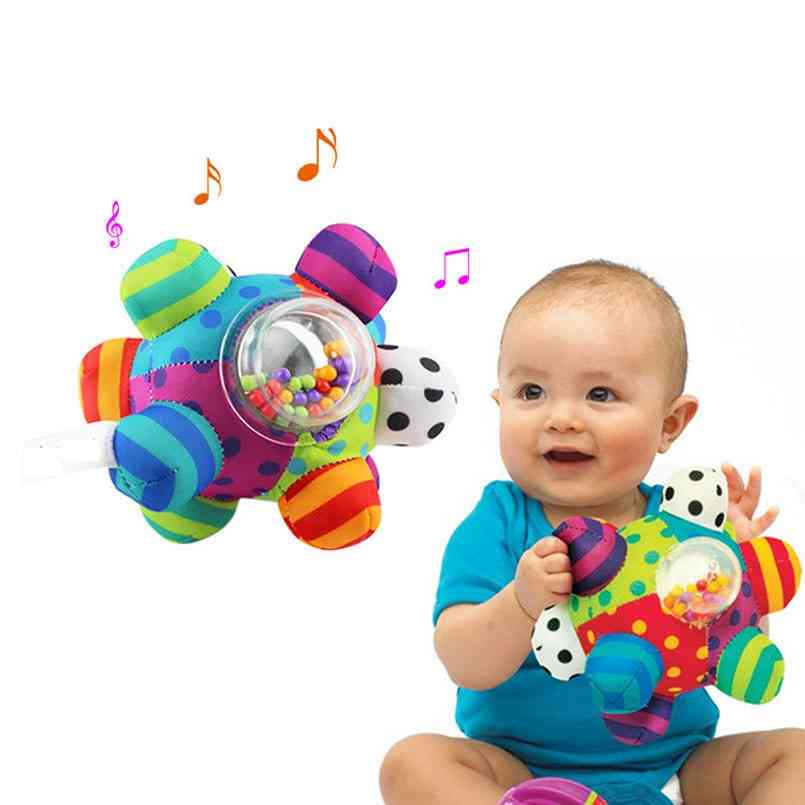 Baby Fun Little Loud Develop Intelligence Grasping Infant Bell Ball Rattles