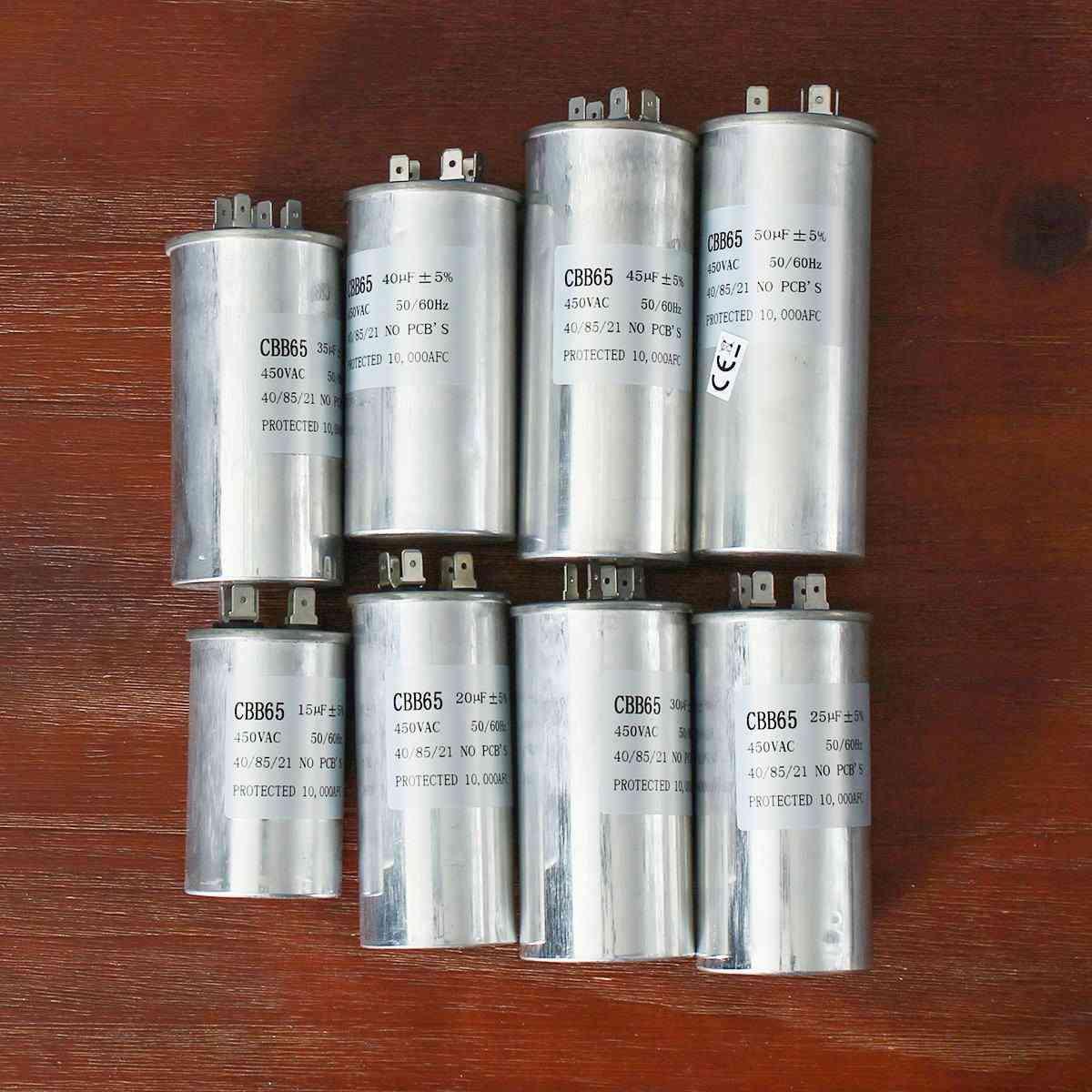 450v Ac Motor Capacitor, Air Conditioner Compressor