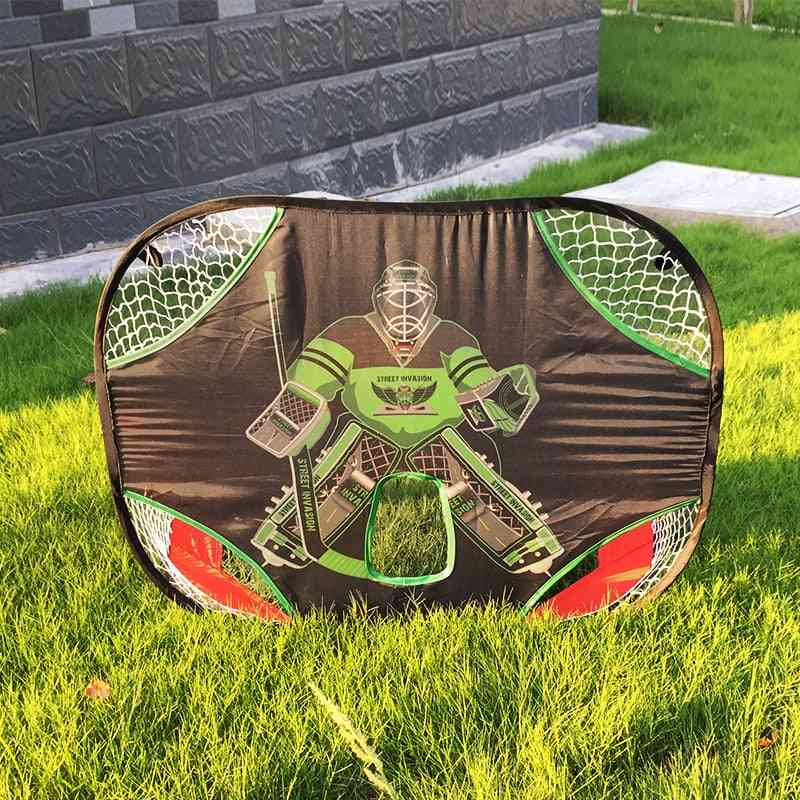 Hockey & Football Shooting Net, Durable Oxford Fabric Double Side Suit