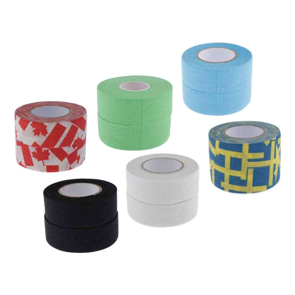 2 Pack Athletic Sports Tape Perfect For Bats, Lacrosse & Hockey Sticks