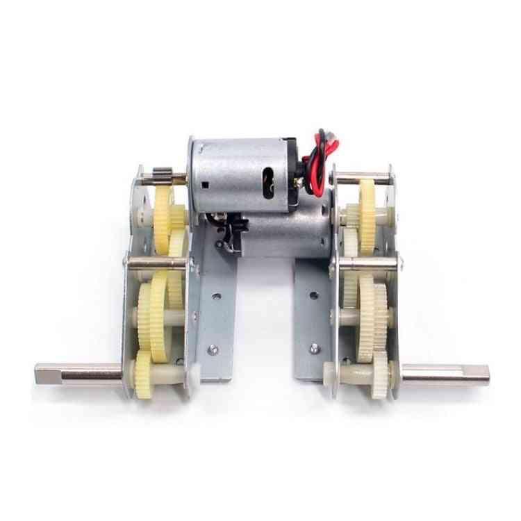 Rc Tank Parts Plastic Drive System, Gear Box