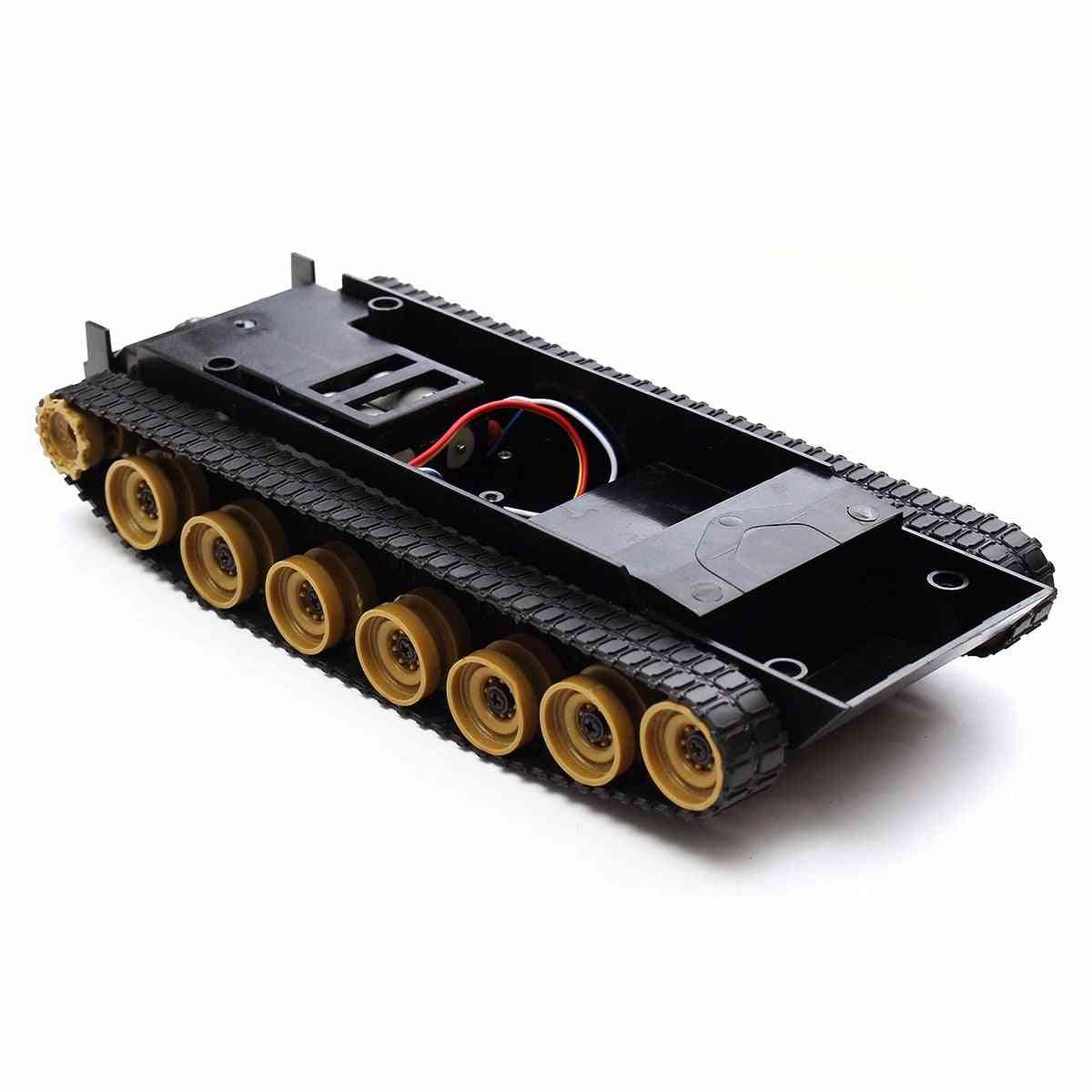 Tank Smart Robot Car Chassis, Rubber Track Crawler Kit
