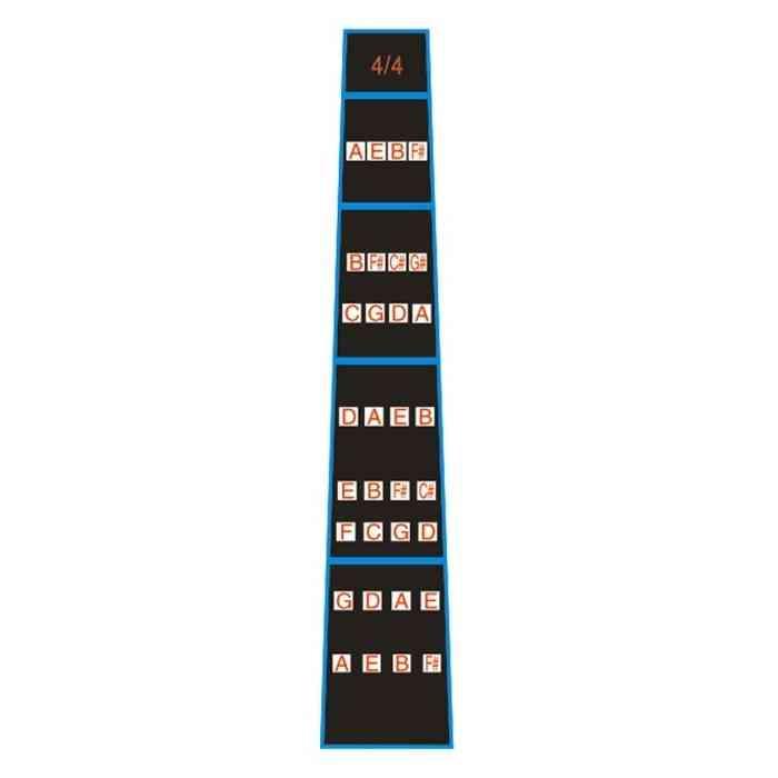 4/4 Violin Practice Fingerboard Guide Sticker