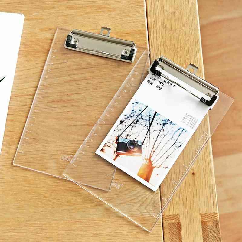 A5 Writing Pad, Folder Board Test Paper Document Clipboard