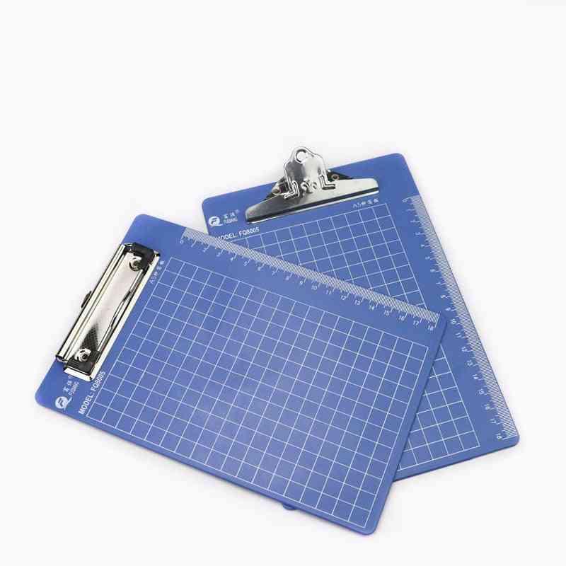 A5 Plastic Paper Clip Holder Clipboards