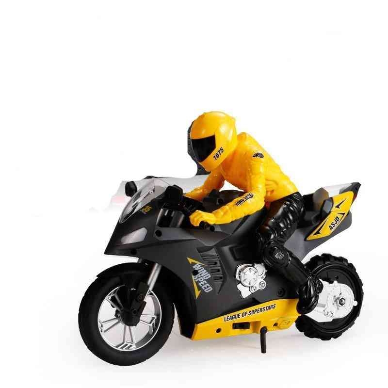 Self-balancing Rc Motorcycle With 6 Axis Of Gyroscope