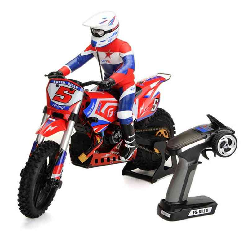 1/4 Scale Super Rider- Remote Control Motorcycle Toy For Kids