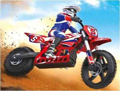 2.4ghz Wireless, Radio Frequency Controlled-electric Rc Motorcycle