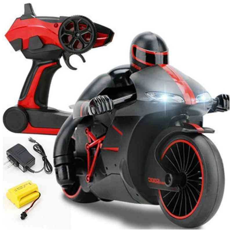 2.4g Mini Remote Control Motorcycle With Led Headlight For