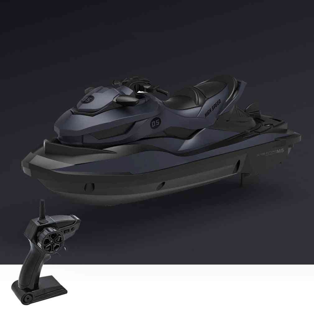 High Speed Mini Rc Motorboat With Bright Led Headlights