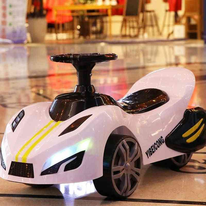 Four-wheel Electric Car With Safety Belt, Light & Music/ Baby