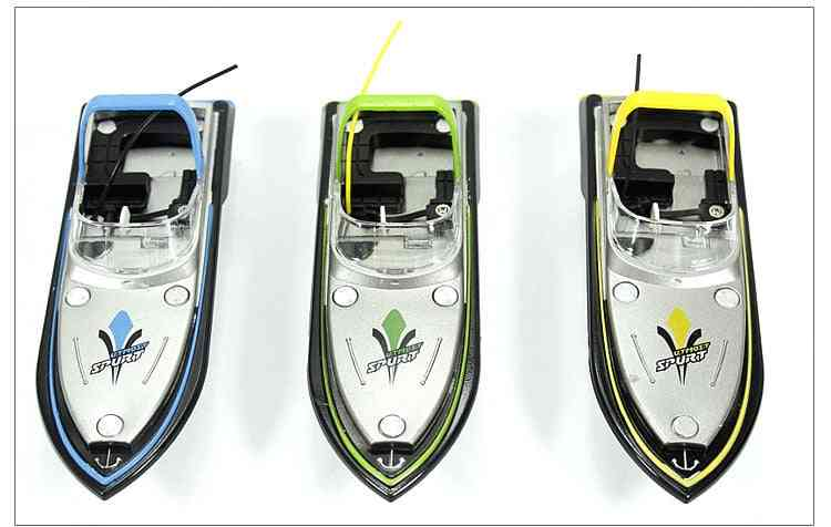 Rc Boat Barco Remote Control, Mini Racing Model, Speedboat Toy