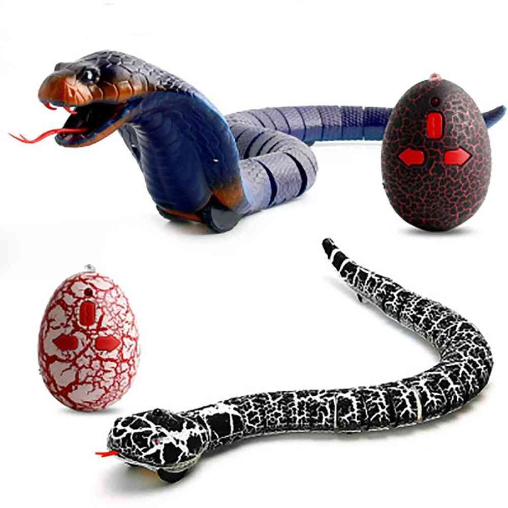 Remote Control Infrared Cobra Snake And Egg-terrifying Mischief For