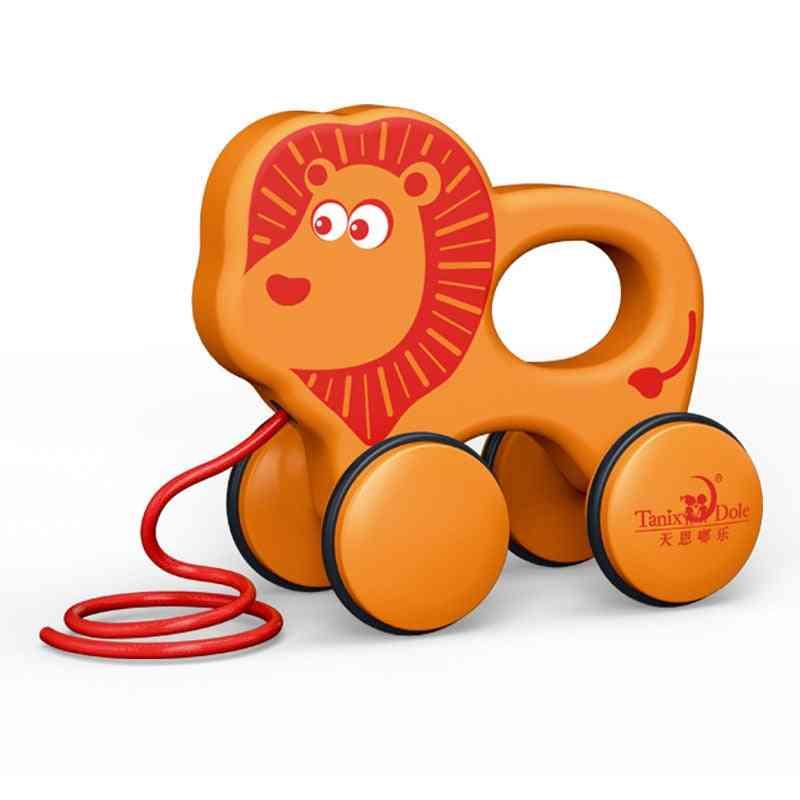 Stick Hors, Hand Push Pull Walks Plane Rod Cart Baby Walker Toy